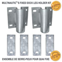 Multinautic Dock Leg Holder Kit