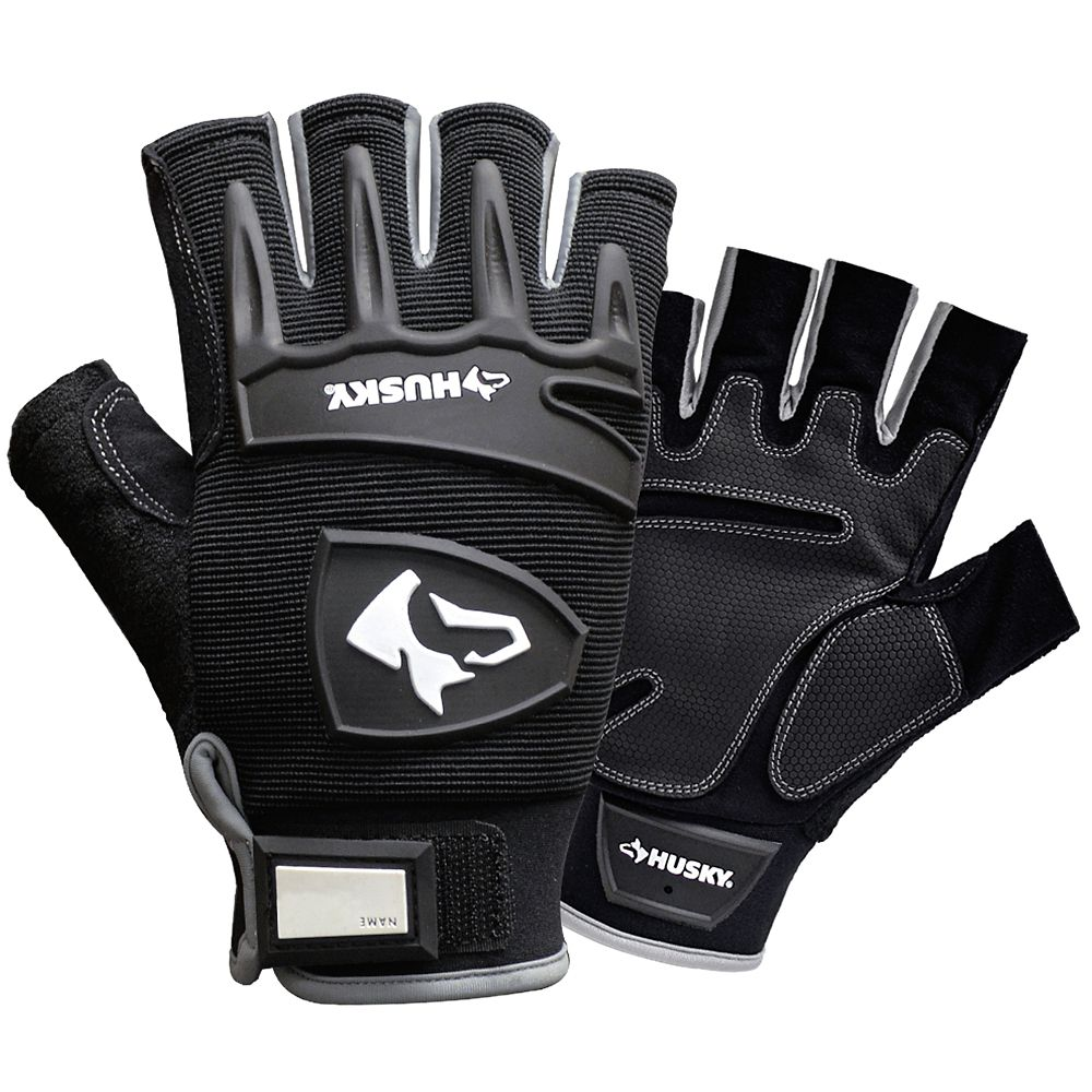 Fingerless Mechanics Glove - Large