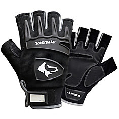 Fingerless Mechanics Glove - Xlarge
