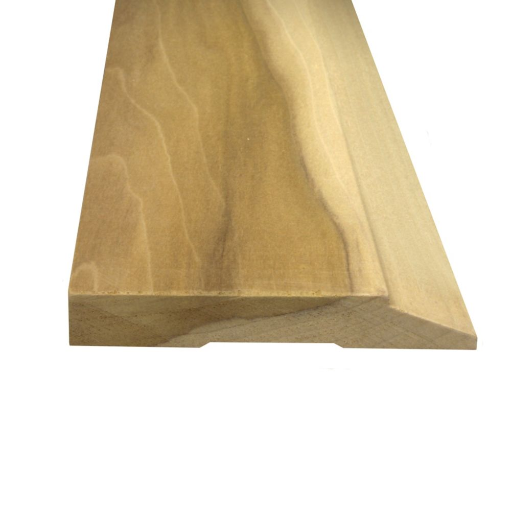 Alexandria Moulding Solid Poplar Base 5/8 Inches x 4-1/4 Inches (Price per linear foot)