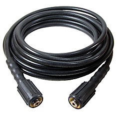 25 Ft. X 1/4-inch  High Pressure Hose With M22 Ez Connect Fittings