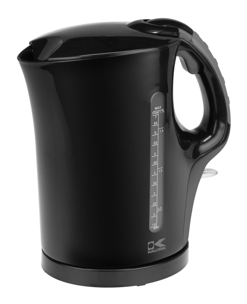1.75 QT Black Water Kettle