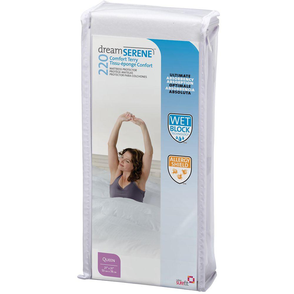 Tissu-éponge Confort 220 Protège-Oreiller - Estándar