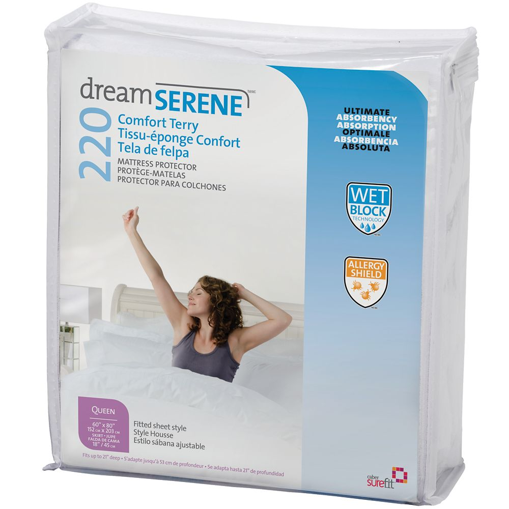 Comfort Terry 220 Mattress Protector - Twin