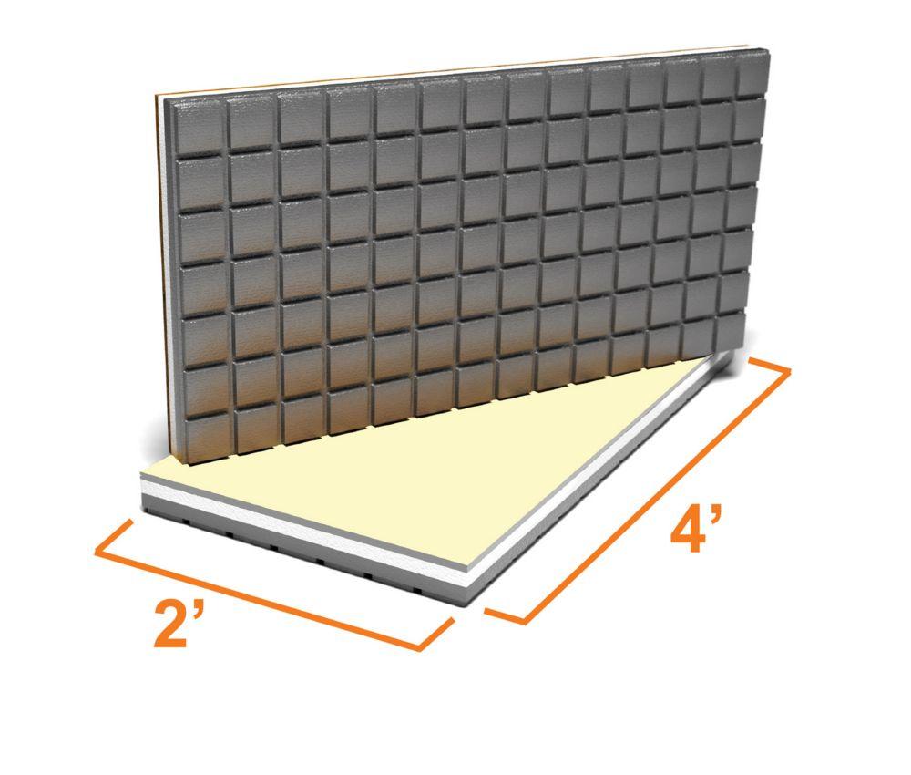 Amdry insulated subfloors