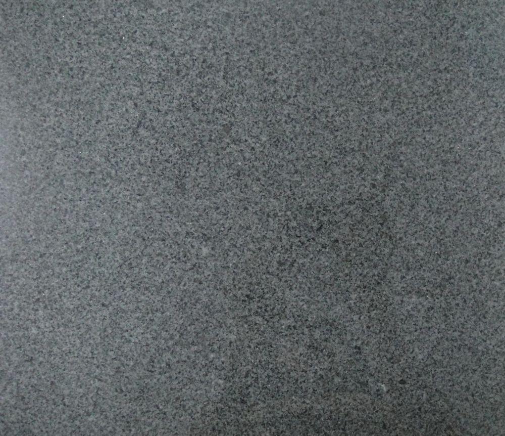 12-inch x 12-inch Granite Tile in Black Charcoal (10 sq. ft./case)
