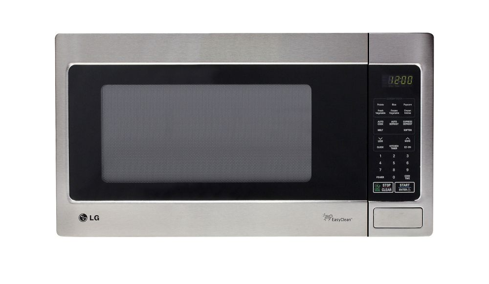 Countertop Microwave Ovens With Stainless Steel Interior : ... . ft. Countertop Microwave with EasyClean Interior in Stainless Steel