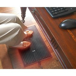 Cozy Products Foot Warmer Heated Mat Personal Space Heater