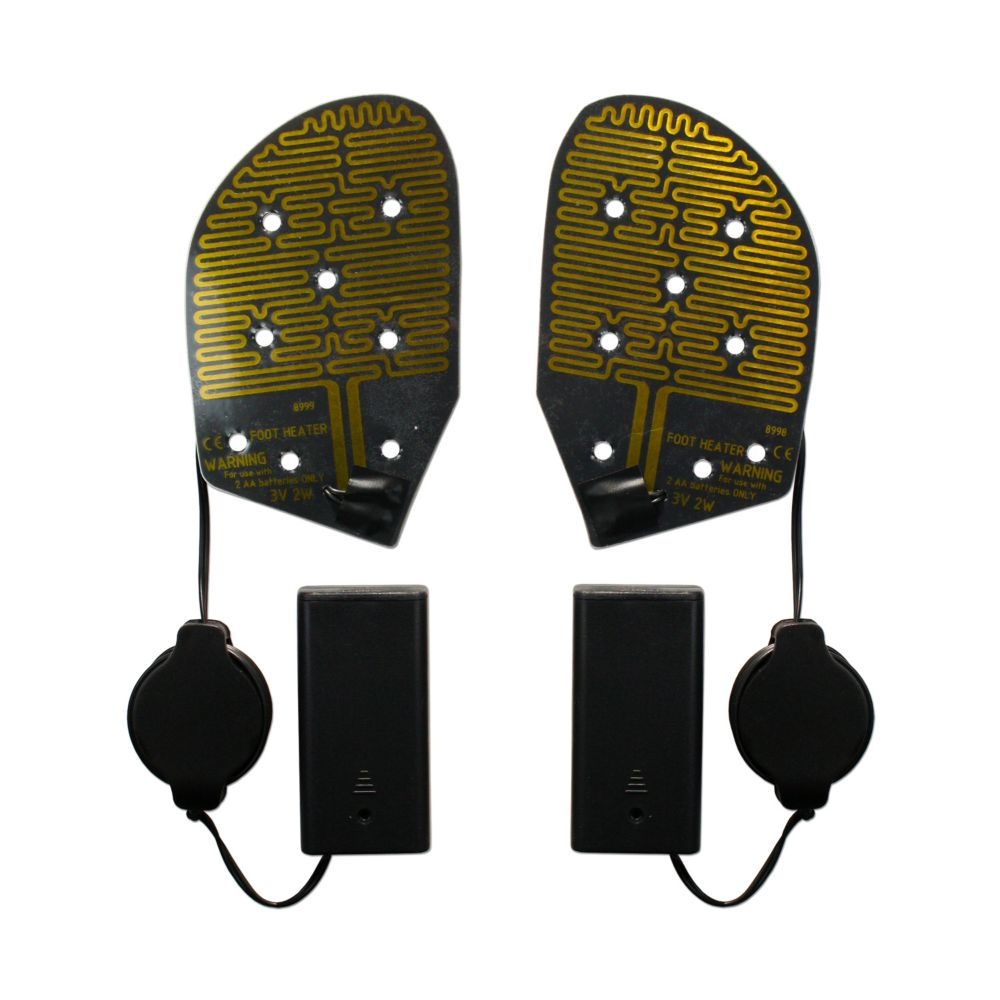 Cozy Products Cozy Feet Heated Shoe Insoles Keep Feet Warm Outdoors Ice Fishing Skiing Hunting