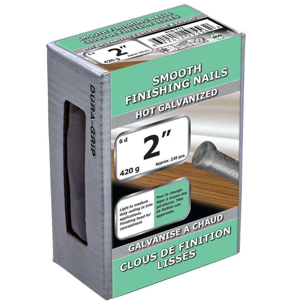 """2"""" Smooth Finish Nail Hot Galv 420g"""