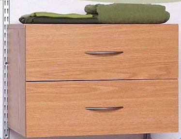 2 tiroirs organisateur - chêne