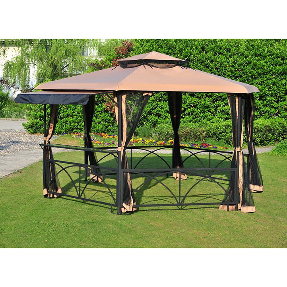 Awesome pavillon de jardin quebec ideas amazing house for Pergolas para jardin