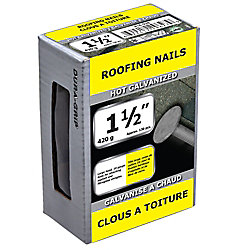 Paulin 1 1/2-inch Roofing Nail-Hot Galvanized-420g (approx. 130  pieces per package)
