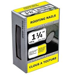 Paulin 1 1/4-inch Roofing Nail-420g (approx. 150  pieces per package)
