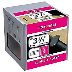 3 1/4-inch (12d) Box Framing Nail-Phosphate Coated-1.5kg (approx. 280  pieces per package)