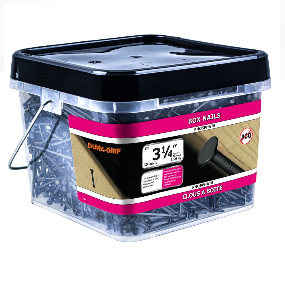 "3-1/4"" Box Nail Phosphate 30lb"