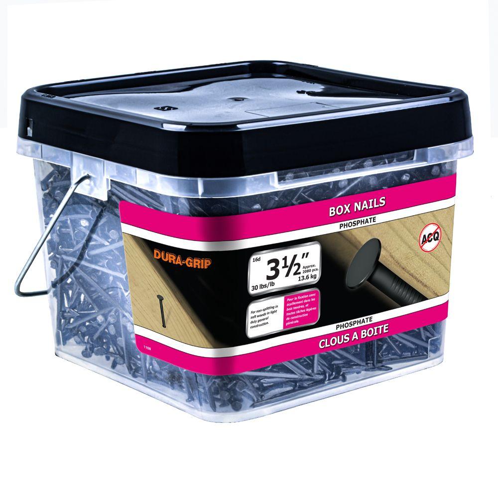 "3 1/2"" Box Nail Phosphate 30lb"