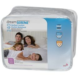Dreamserene Quilted Comfort 240 Mattress Protector - Twin
