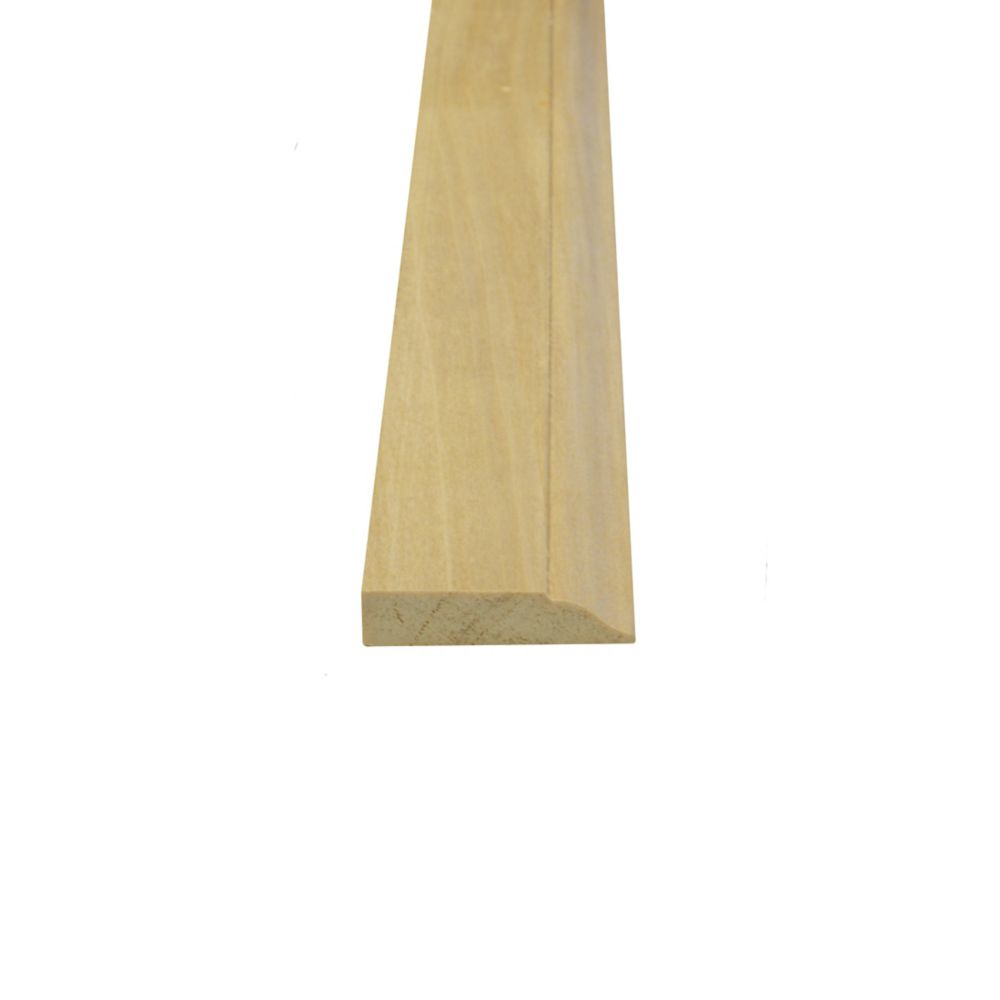 Solid Poplar Stop 5/16 Inches x 1-1/4 Inches (Price per linear foot)