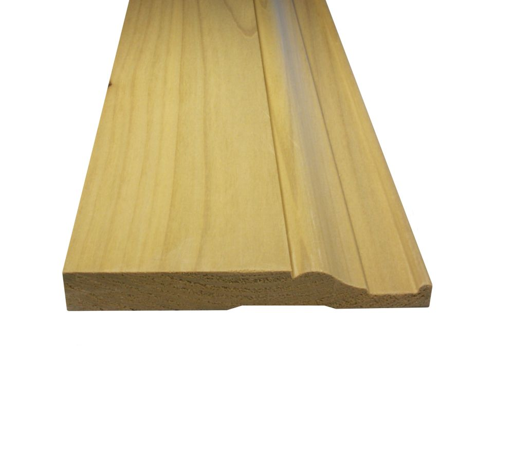 Solid Poplar Base 11/16 Inches x 5-1/4 Inches (Price per linear foot)