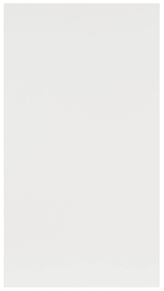 Porte Mélamine Alexandrie 16 1/2 x 30 1/8 Blanc