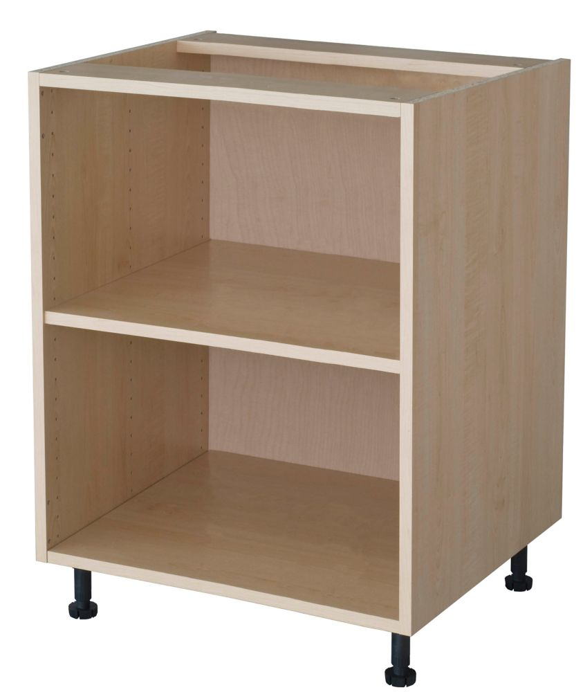 Eurostyle base cabinet 21 maple the home depot canada for Eurostyle kitchen cabinets