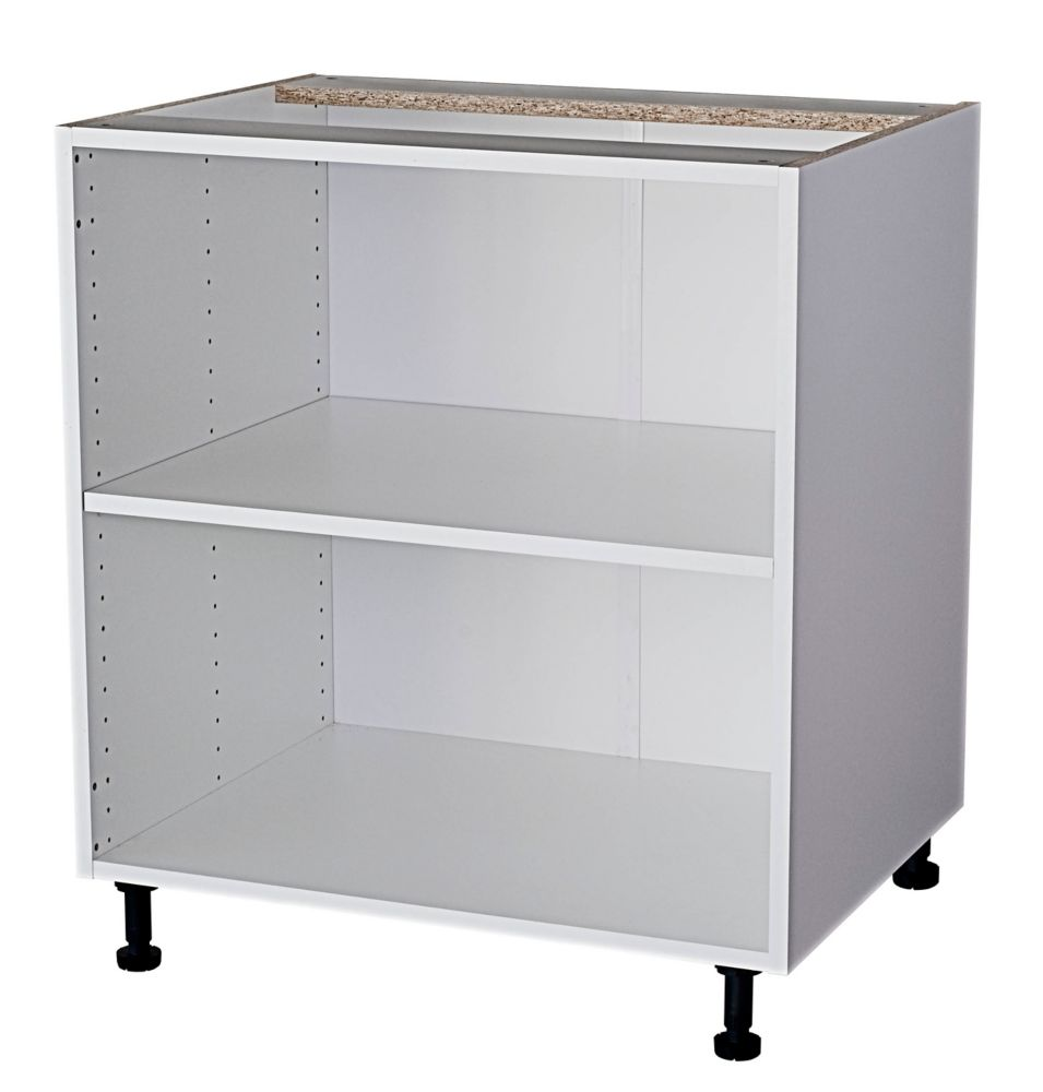Eurostyle Base Cabinet 30 White | The Home Depot Canada