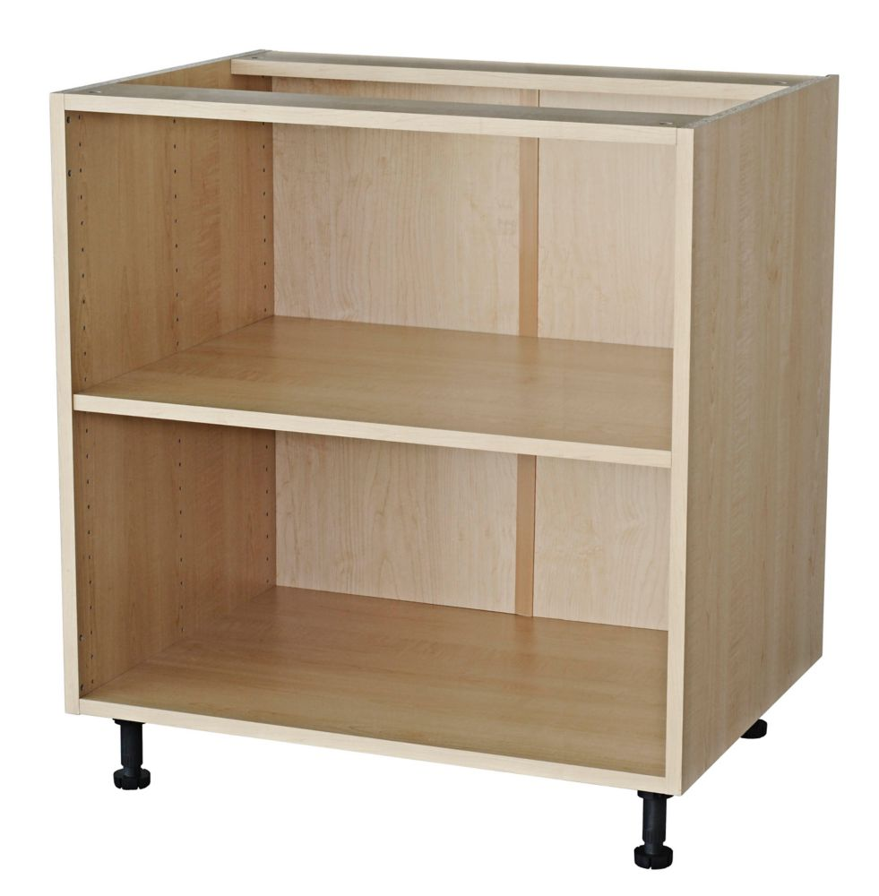 Eurostyle base cabinet 33 maple the home depot canada for Eurostyle kitchen cabinets