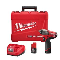 Milwaukee Tool 3/8- Inch  M12 FUEL Impact Wrench Kit