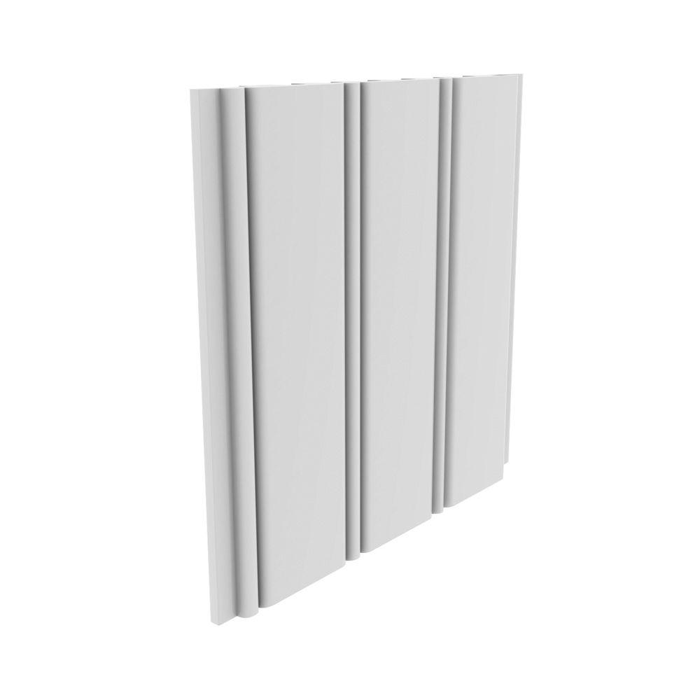 """PLANKING PVC WHITE 3/8"""" X 5-5/32""""X8'"""