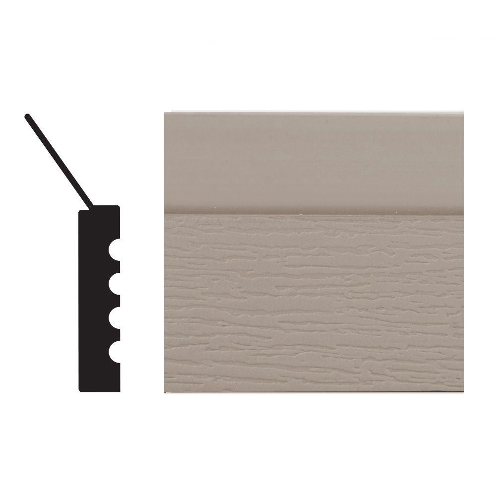 T-Stop Pvc Sandstone 7/16x2-1/4x9
