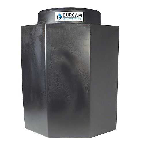 BURCAM 30 x 30 sump basin with lid (Manitoba specifications)