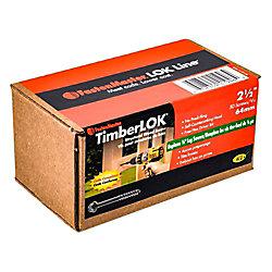 FastenMaster 2-1/2 Inch. Timberlok 50-Piece
