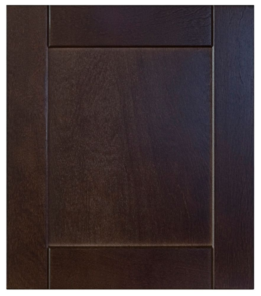 Wood Door Barcelona 16 1/2 x 15 Choco