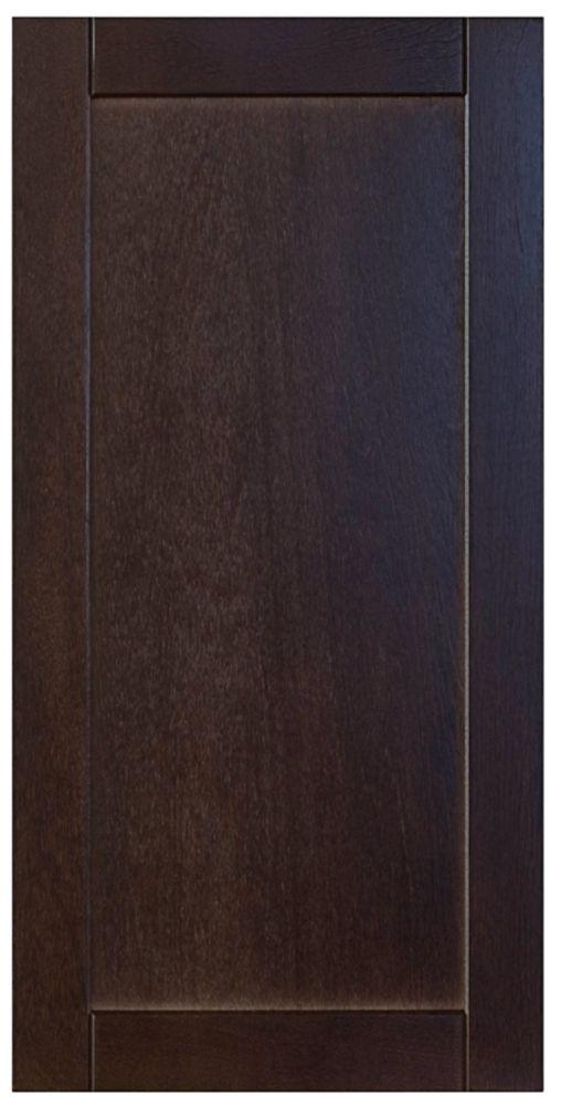 Wood Door Barcelona 16 1/2 x 30 1/8 Choco