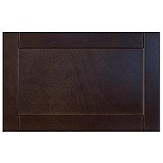 Wood Door Barcelona 23 3/4 x 15 Choco
