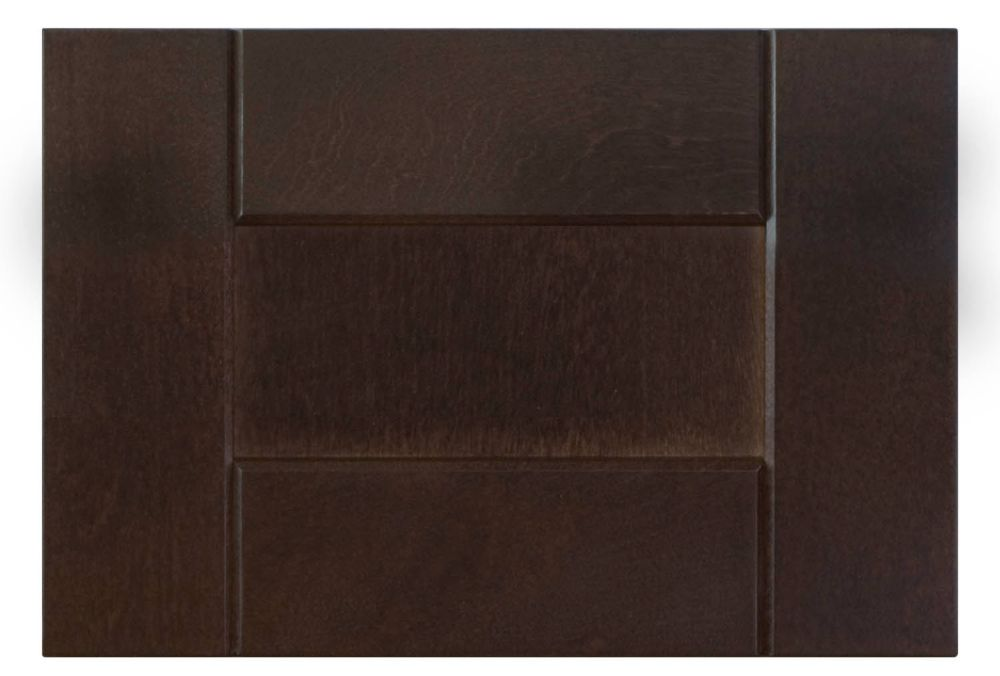 Wood Drawer front Barcelona 11 7/8 x 7 1/2 Choco