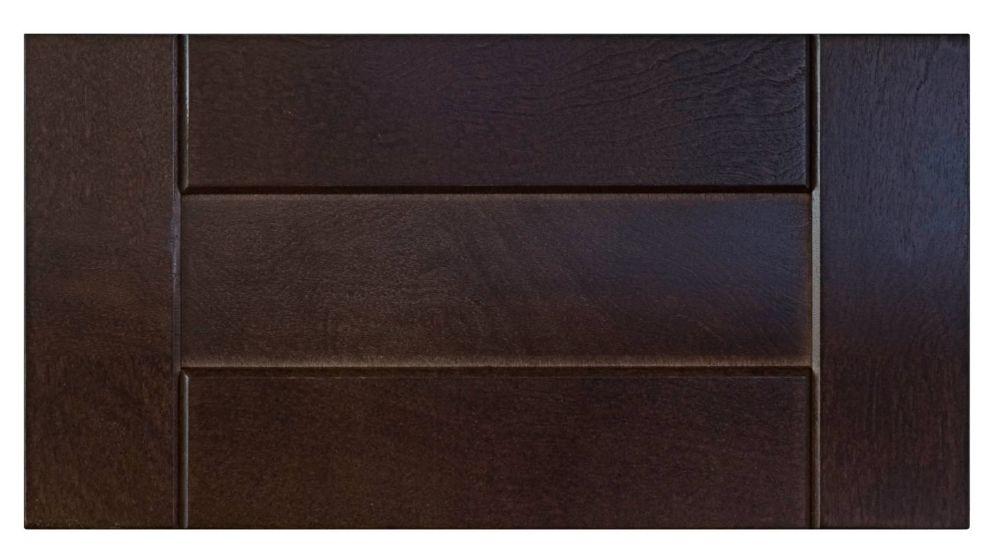 Wood Drawer front Barcelona 15 x 7 1/2 Choco