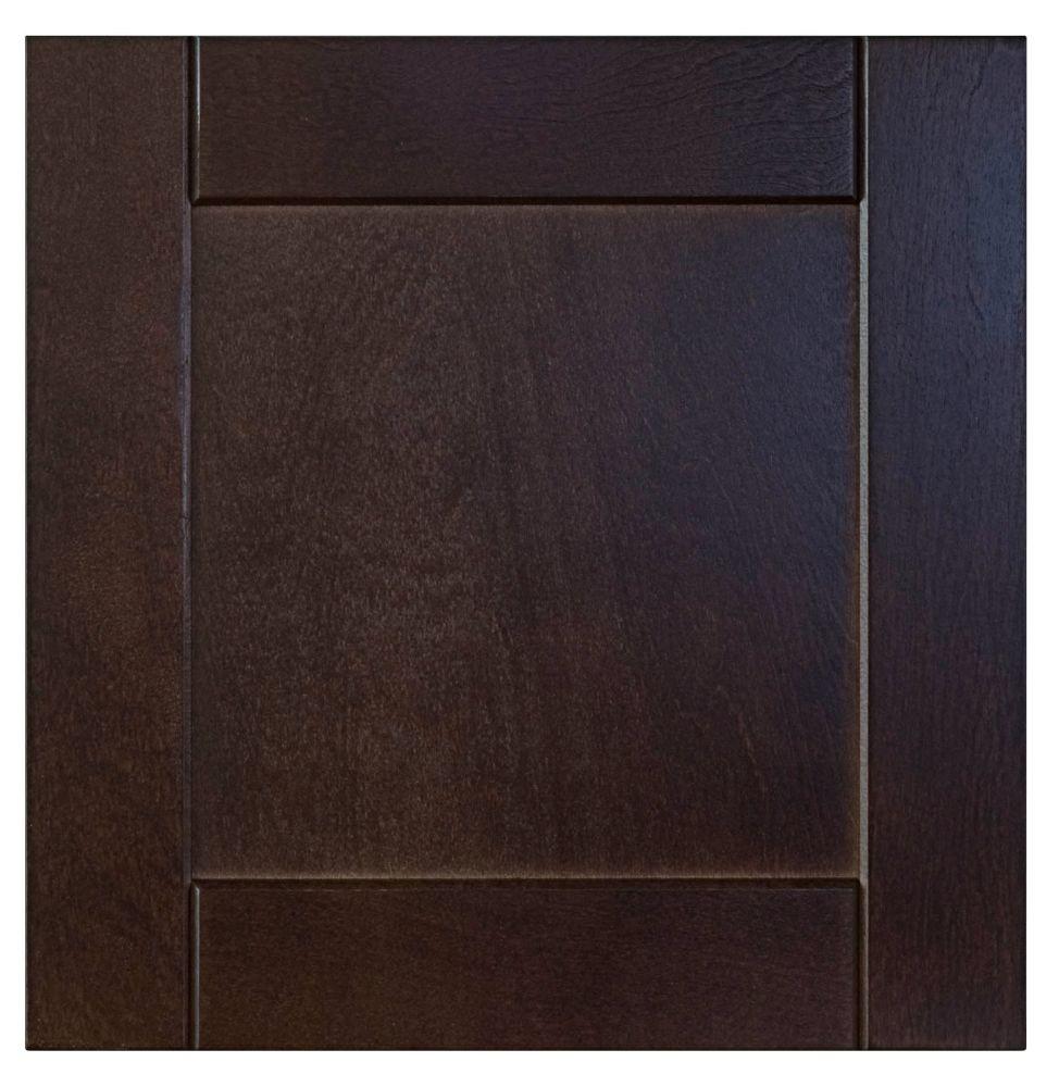 Wood Drawer front Barcelona 15 x 15 Choco