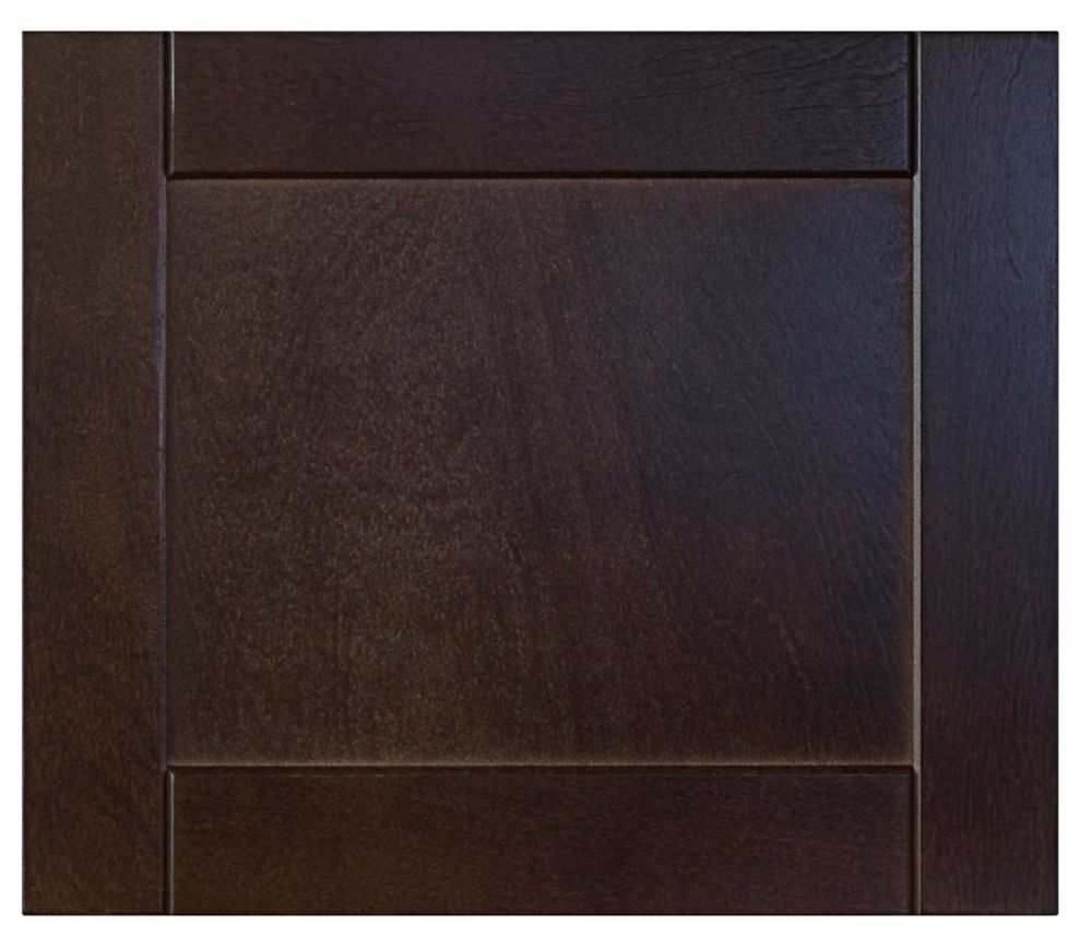 Wood Drawer front Barcelona 17 3/4 x 15 Choco