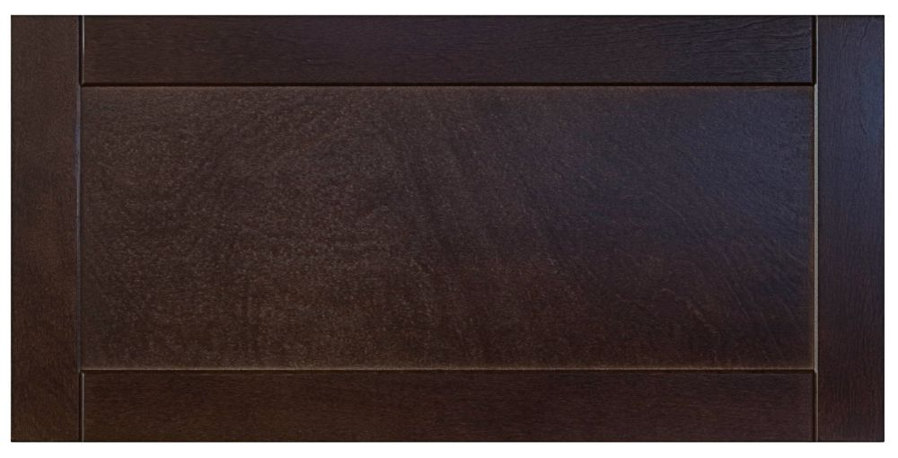 Wood Drawer front Barcelona 30 x 15 Choco BARCE.D9 Canada Discount