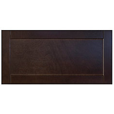 Wood Drawer front Barcelona 30 x 15 Choco