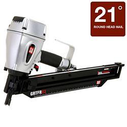 Grip-Rite 3 1/4 Inch 21 Degree Round Head Short Body Framing Nailer