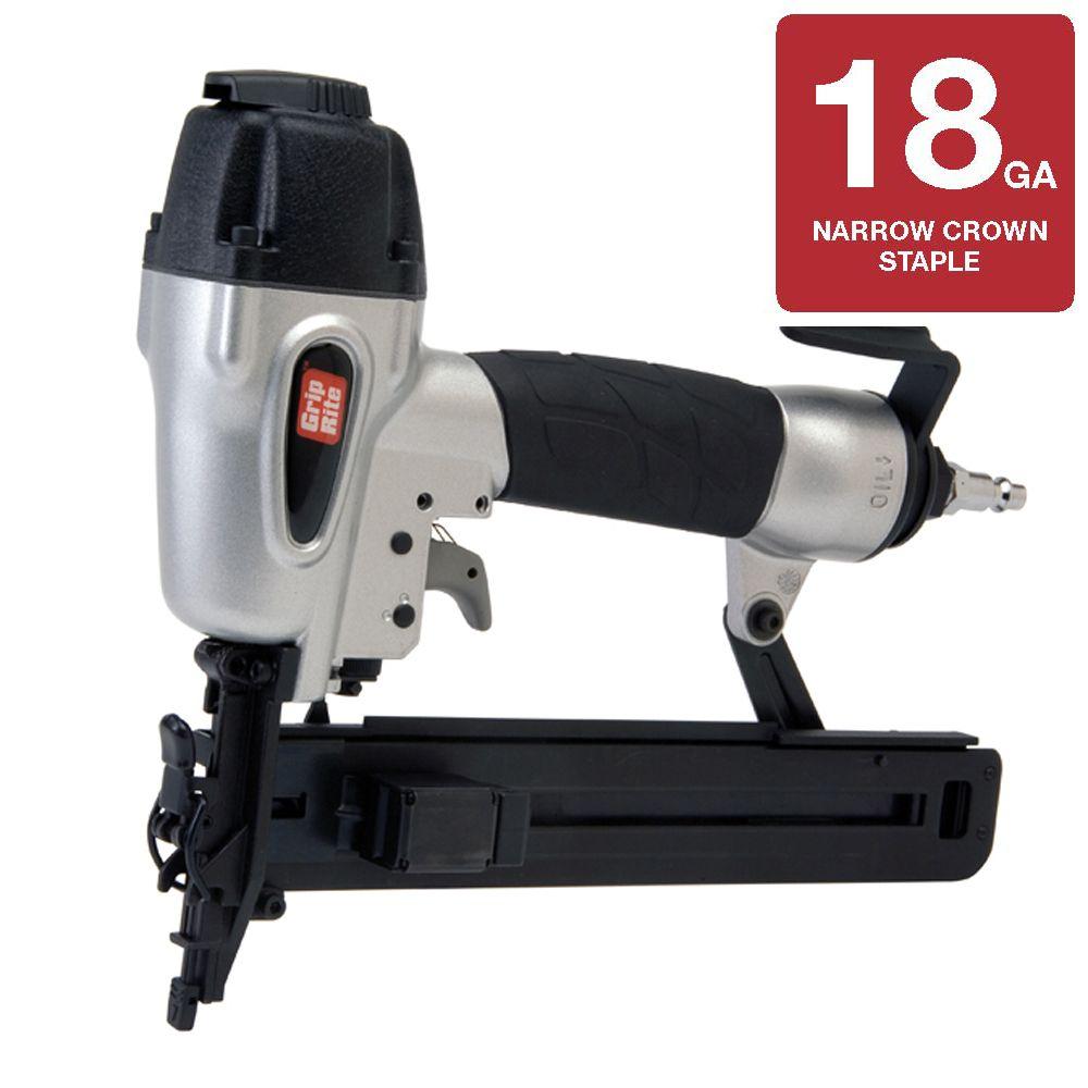 Grip-Rite 1 1/2 Inch x 18 Gauge Narrow Crown Stapler