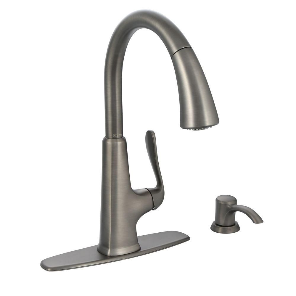 pfister pasadena kitchen faucet slate the home depot canada