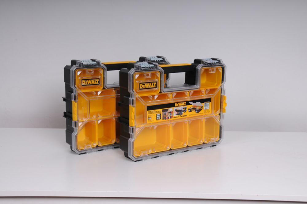 Ensemble de 2 mallettes de rangement Deep Pro