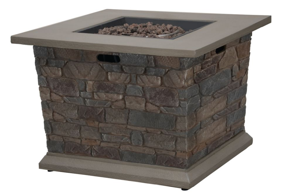 Grayling 20 lbs. Outdoor Fire Table