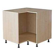 Base Corner Cabinet 36 Maple