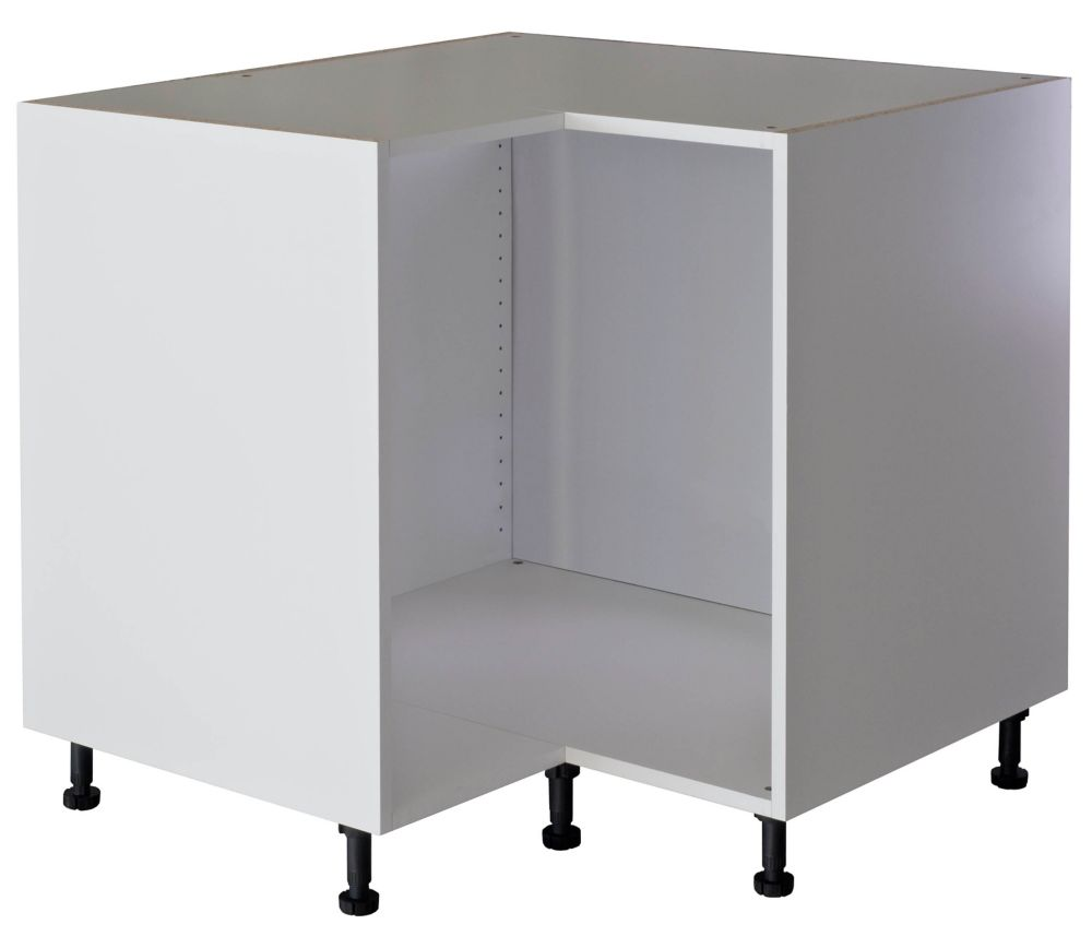 Eurostyle Base Corner Cabinet 36 White The Home Depot Canada