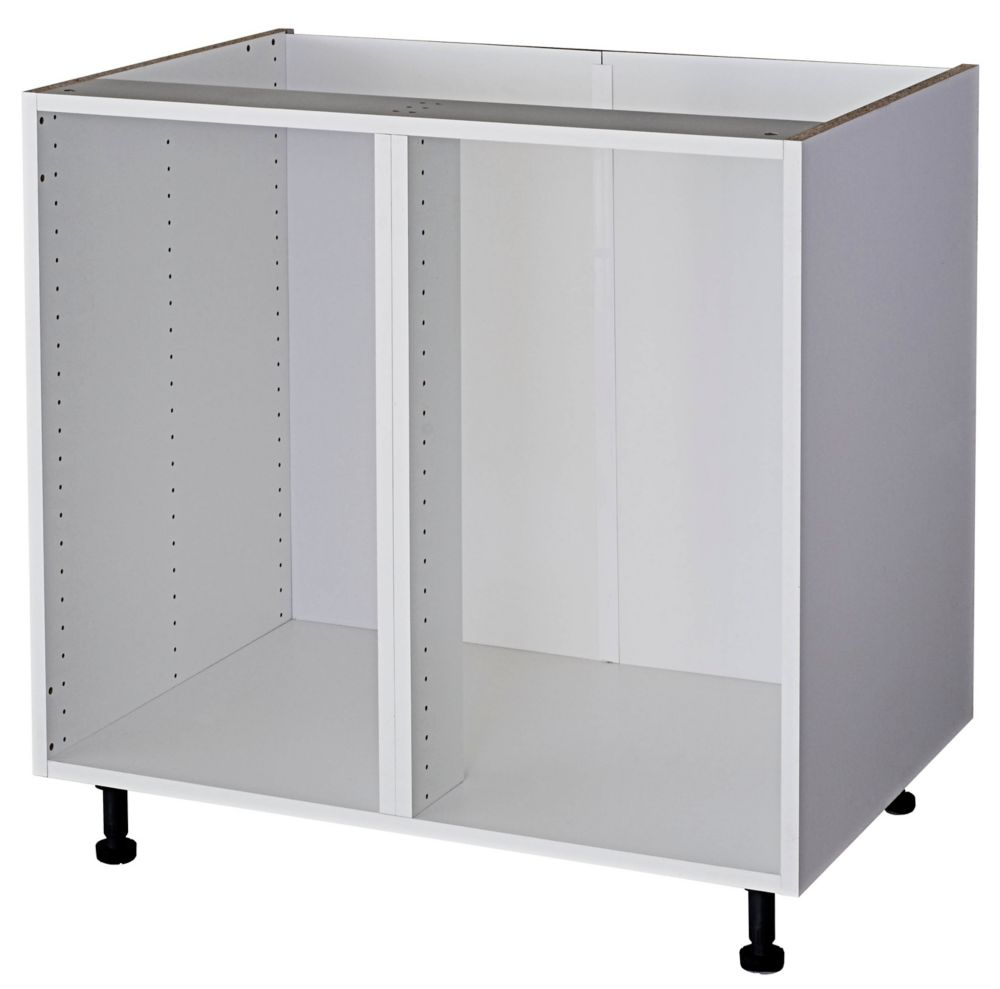 Eurostyle Base Cabinet 36 White The Home Depot Canada